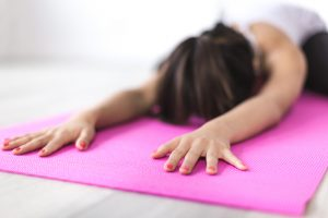 mindfulness stress yoga overeating
